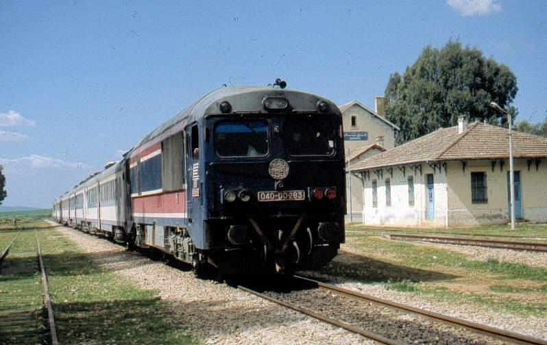 train en Tunisie